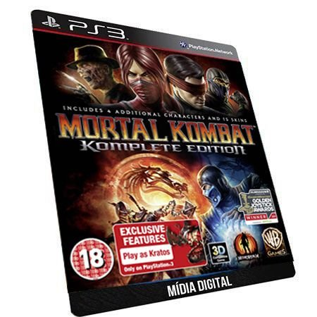 Mortal Kombat 9 Komplete Edition Português GAME DIGITAL PS3 PSN PLAYSTATION STORE
