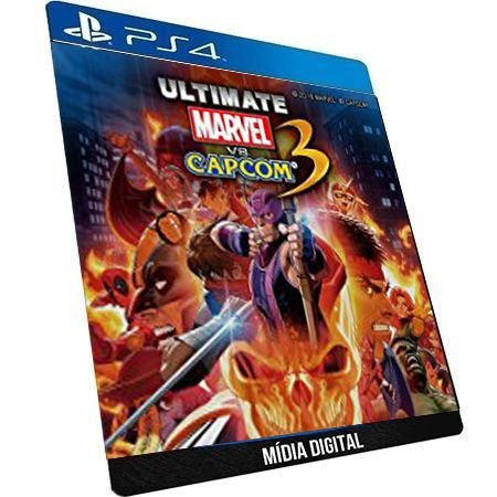 Ultimate Marvel Vs Capcom 3 + Dlc GAME DIGITAL PS4 PSN PLAYSTATION STORE