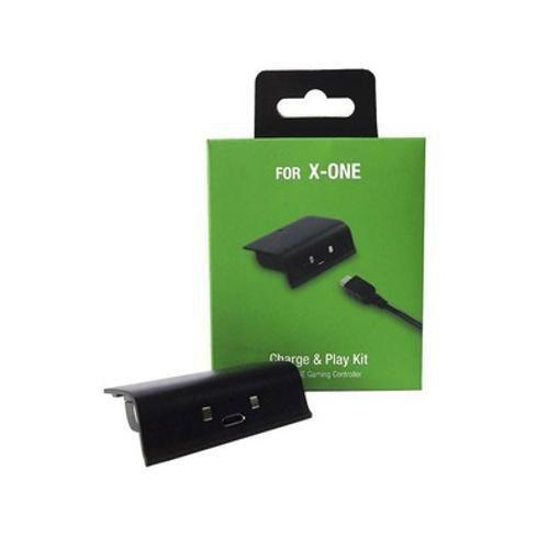Bateria Recarregável + Cabo Recarregador USB Para Controle Xbox ONE