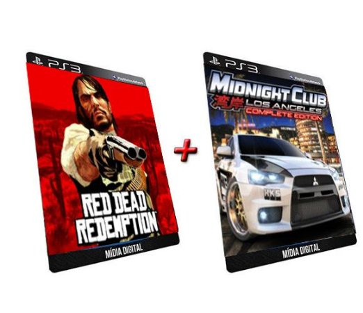 Read Dead Redemption + Midnight Club 3 Los Angeles PS3 Game Digital PSN
