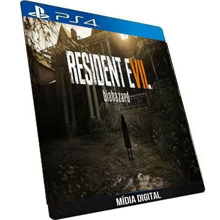 Resident Evil 7 Biohazard Português PS4 Digital PSN ORIGINAL