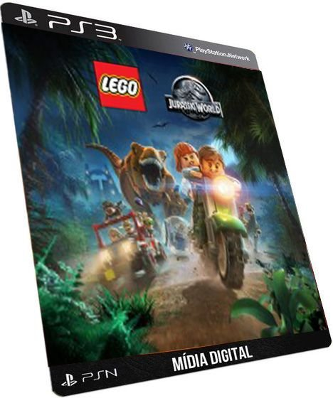 Lego Jurassic World Dublado PS3 Game Digital PSN
