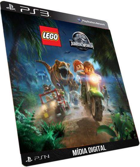 LEGO Jurassic World O Mundo Dos Dinossauros Dublado GAME DIGITAL PSN PLAYSTATION STORE