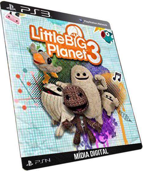 LittleBigPlanet 3 PS3 Game Digital PSN