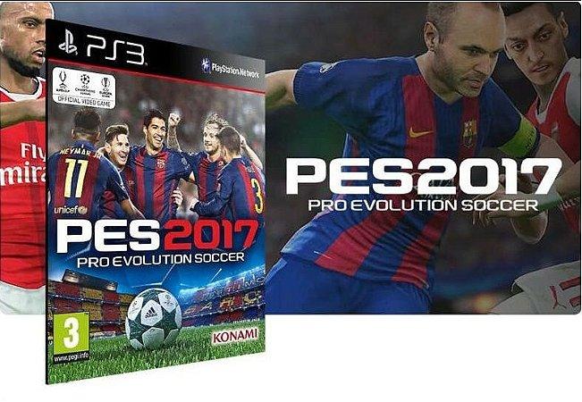 Pes 2017 Ps3 Game Digital Psn