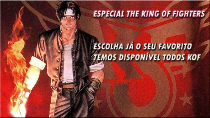 THE KING OF FIGHTERS - TEMOS TODOS-  ESCOLHA O SEU GAME DIGITAL PSN PS3