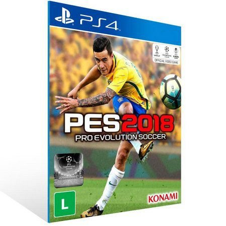 PES 2018 PS4 Game Digital PSN