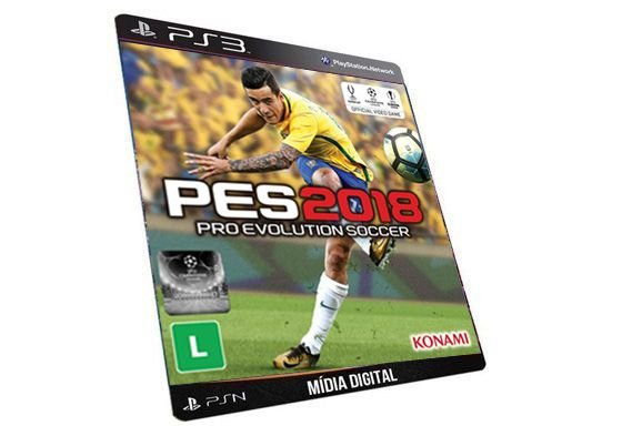 PES 2018 PS3 Game Digital PSN
