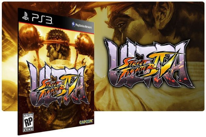 Street Fighter IV Ultra Game Digital PS3 PSN Playstation Stores