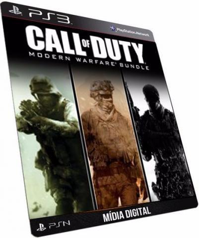 Call of Duty® 4: Modern Warfare 1 2 3 PS3 Game Digital PSN PLAYSTATION STORE