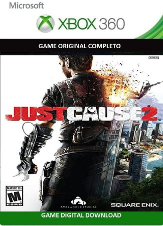 Just Cause 2 Game Xbox 360 Jogo Digital Original Xbox Live