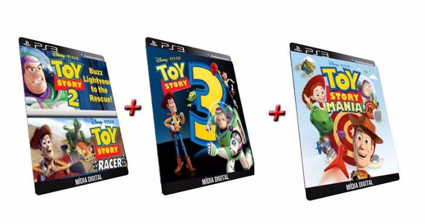 Toy Story Pack 4 Jogos Ps3 Game Digital PSN