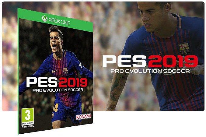 PES 2019 Pro Evolution Soccer Jogo Dublado XBOX ONE Game Digital ONLINE