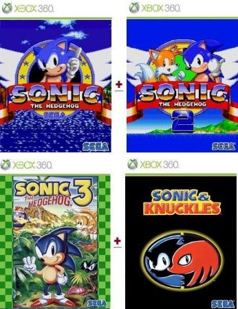 Sonic Collections Game Xbox 360 Jogo Digital Original Xbox Live