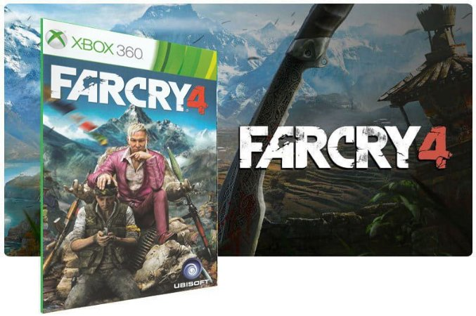 Far Cry 4 Jogo Xbox 360 Original Midia Digital Xbox Live