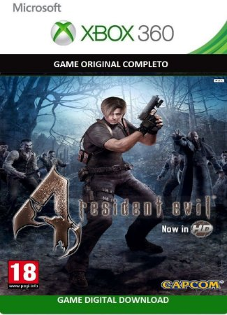 Resident Evil 4 HD Game Digital Original Xbox LIve