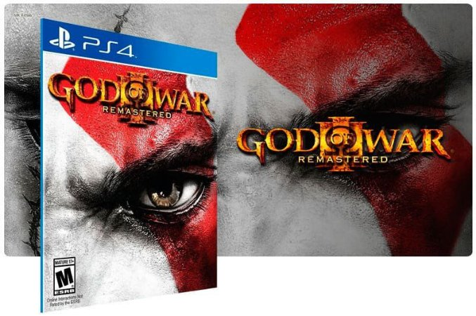 God of War 3 Jogo Dublado PS4 Game Digital PSN Playstation Store