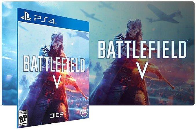 BATTLEFIELD V Jogo Ps4 Psn Digital Playstation Store