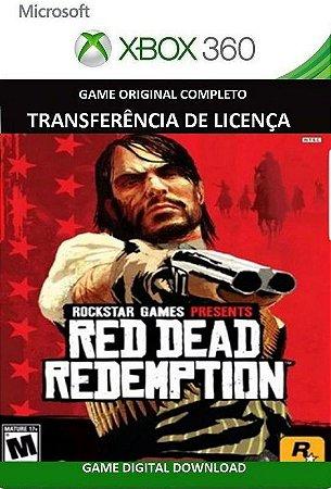 Red Dead Redemption Xbox 360 Jogo em Mídia Digital Original