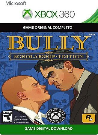Bully Scholarship Edition Xbox 360 Jogo Digital Original Xbox Live
