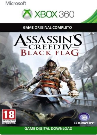 Assassin's Creed® IV Black Flag Xbox 360 Jogo Digital Original Xbox Live