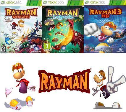 Rayman Trilogia Xbox 360 Jogo Digital Original