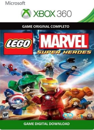 Lego Marvel Super Heroes Xbox 360 Game Digital Original Xbox Live
