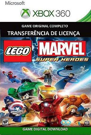 Lego Marvel Super Heroes Game Xbox 360 Mídia Digital Original