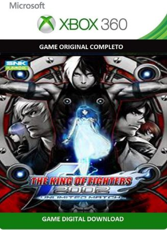 The King Of Fighters 2002 Game Xbox 360