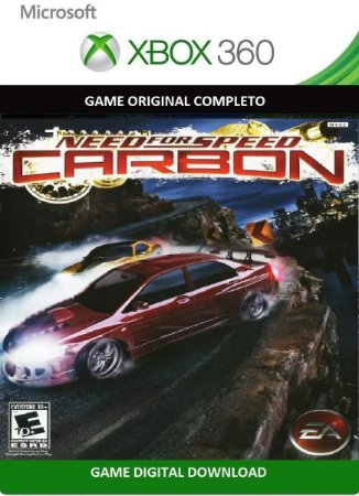 Need For Speed Carbon Game Xbox 360 Jogo Digital Original Xbox Live