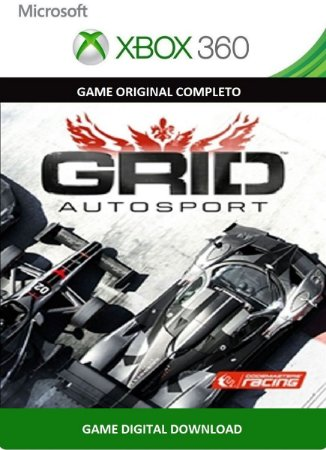 Grid Autosport Xbox 360 Game Digital Xbox Live