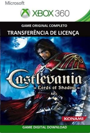 Castlevania Lord of Shadow Xbox 360 Game Mídia  Digital Original