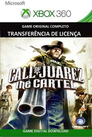 Call of Juarez: The Cartel Xbox 360 Game Mídia Digital