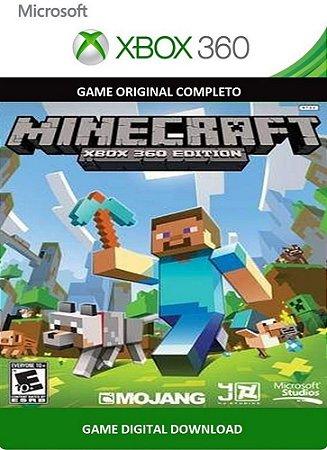 Minecraft Xbox 360 Edition Game Digital Original