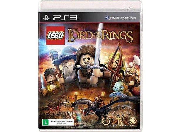 Jogo Lego Senhor Dos Anéis - Game DVD PS3 - PORTUGUÊS