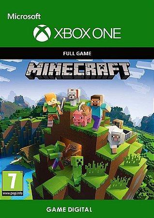 Minecraft Game Digital Original Xbox ONE