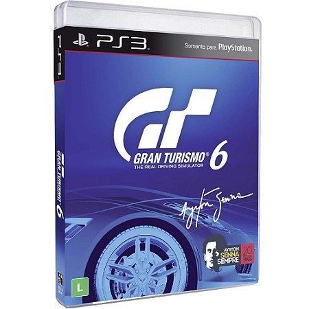 Game Gran Turismo 6 GT6 Português - PS3