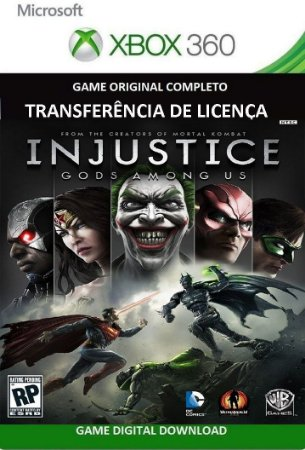 Injustice Gods Among Us Português Game Xbox 360 Digital