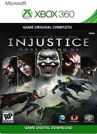 Injustice Gods Among Us Português Xbox 360 Game Original Digital Xbox Live