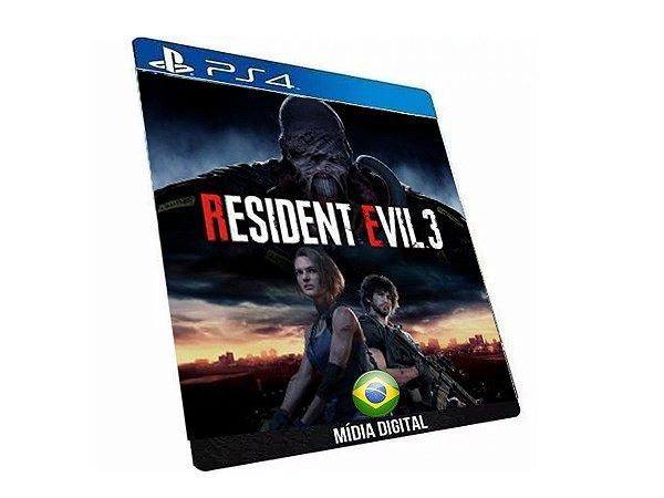 Resident Evil 3 Nemesis Game Ps4 Digital PSN