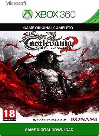 Castlevania Lord of Shadow 2 Xbox 360 Game Digital Original