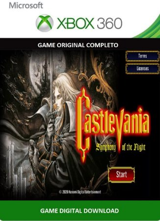 Castlevania Symphony of the Night Xbox 360 Game Digital Xbox Live