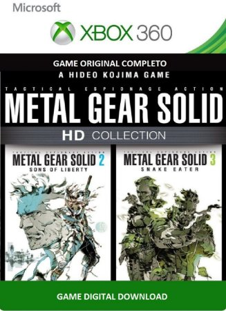 Metal Gear solid HD 2 & 3  Xbox 360 Game Digital Xbox Live