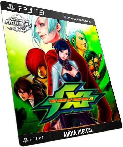 The king of Fighters XI PS3 Game Digital PSN