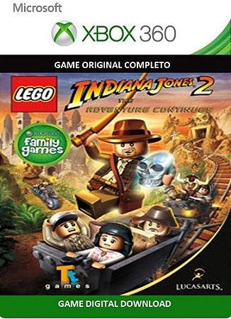 Lego Indiana Jones 2 Xbox 360 Game Digital Xbox Live