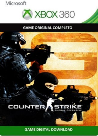 Counter Strike: GO Xbox 360 Game Digital Original