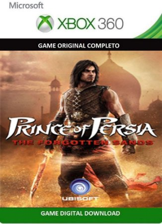 Prince of Persia The Forgotten Sands Xbox 360 Game Digital Original