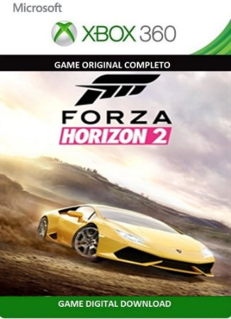 Forza Horizon 2 Xbox 360 Game Digital Original