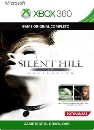 Silent Hill 2 e 3 HD Collections Xbox 360 Game Digital Original