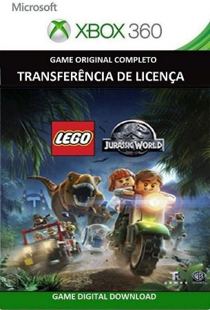 Lego Jurassic World Game Xbox 360 Mídia Digital Original